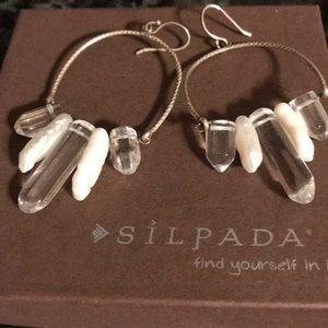 Silpada Idyllic Icicle earrings